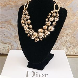 Christian Dior Mise En Dior Tribal Pearl Necklace